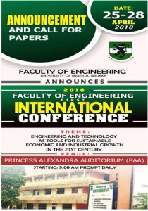 2018 Faculty of Engineering 1st International Conference